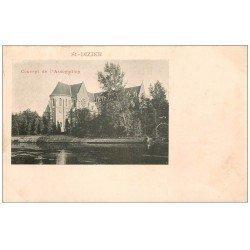 carte postale ancienne 52 SAINT-DIZIER. Couvent de l'Assomption. Timbre 1 Centime 1902