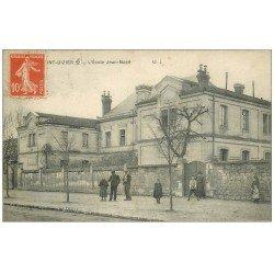 carte postale ancienne 52 SAINT-DIZIER. Ecole Jean-Macé 1916