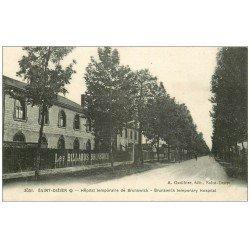 carte postale ancienne 52 SAINT-DIZIER. Hôpital temporaire aux Billards Brunswick 1917