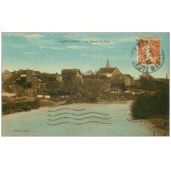 carte postale ancienne 52 SAINT-DIZIER. La Marne à la Noue