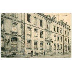 carte postale ancienne 52 SAINT-DIZIER. Le Collège 1928