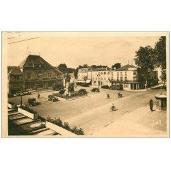 carte postale ancienne 52 SAINT-DIZIER. théâtre Place Aristide Briand 1937