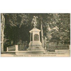 carte postale ancienne 53 CHATEAU-GONTIER. Monument aux Morts
