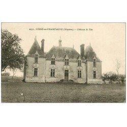 carte postale ancienne 53 COSSE-EN-CHAMPAGNE. Château de Fau
