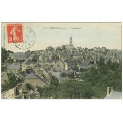 carte postale ancienne 53 GORRON 1910