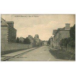 carte postale ancienne 53 JAVRON. Rue de Villaines