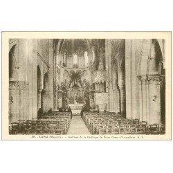 carte postale ancienne 53 LAVAL. Basilique d'Avesnières
