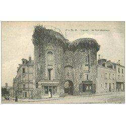 carte postale ancienne 53 LAVAL. Boulangerie Porte Beucheresse