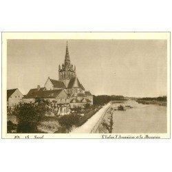 carte postale ancienne 53 LAVAL. Eglise d'Avesnières