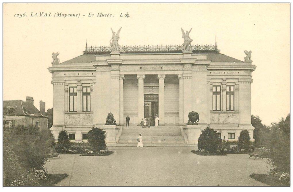 carte postale ancienne 53 LAVAL. Le Musée