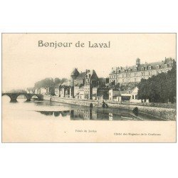 carte postale ancienne 53 LAVAL. Palais de Justice 1919
