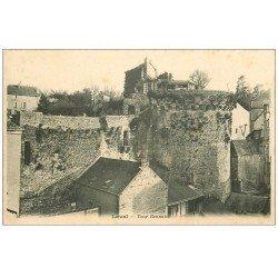 carte postale ancienne 53 LAVAL. Tour Rennaise et son Restaurant