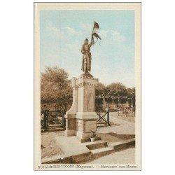 carte postale ancienne 53 NUILLE-SUR-VICOIN. Monument aux Morts