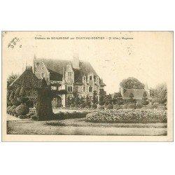 carte postale ancienne 53 Par Château-Gontier. Château de Beaubigné vers 1920