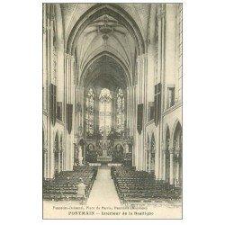 carte postale ancienne 53 PONTMAIN. Basilique