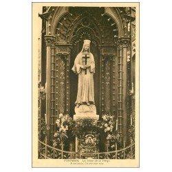 carte postale ancienne 53 PONTMAIN. Trône de la Vierge