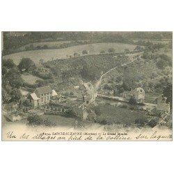 carte postale ancienne 53 SAINTE-SUZANNE. Le Grand Moulin