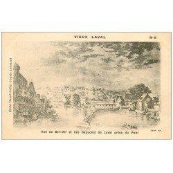 carte postale ancienne 53 VIEUX LAVAL. Bel-Air et Caoucins