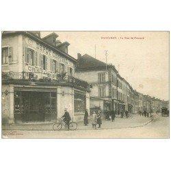 carte postale ancienne 54 BACCARAT. Dépot Central Cristaux Rue de Frouard 1916