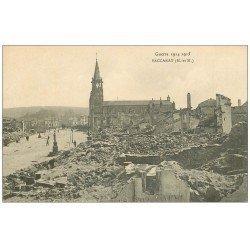 carte postale ancienne 54 BACCARAT. Guerre 1914-15 Ruines