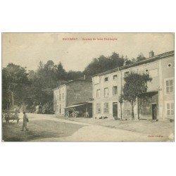 carte postale ancienne 54 BACCARAT. Hameau de Saint-Christophe 1916