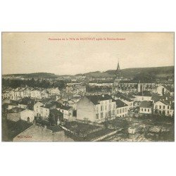 carte postale ancienne 54 BACCARAT. Panorama 1916