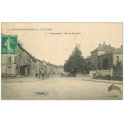 carte postale ancienne 54 BACCARAT. Rue de Frouard