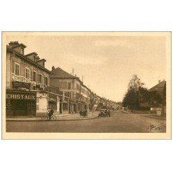 carte postale ancienne 54 BACCARAT. Rue de Frouard. Dépot Central Cristaux
