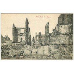 carte postale ancienne 54 BACCARAT. Rue Grande 1916