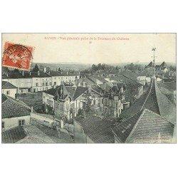 carte postale ancienne 54 BAYON. Vue du Château 1908