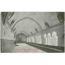 carte postale ancienne 12 ABBAYE de BONNECOMBE. Intérieur du Cloître