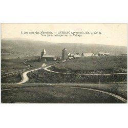 carte postale ancienne 12 AUBRAC. Vue sur le Village
