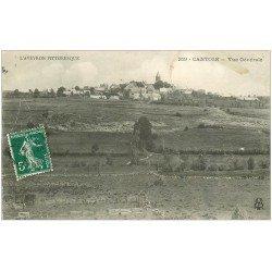 carte postale ancienne 12 CANTOIN. Le Village 1910