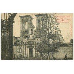 carte postale ancienne 54 GERBEVILLER. Chapelle du Château 1915