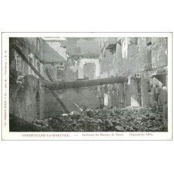 carte postale ancienne 54 GERBEVILLER-LA-MARTYRE. Vers 1914 Bureau de Poste