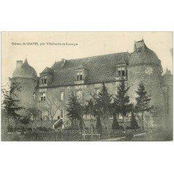 carte postale ancienne 12 Château de GRAVES