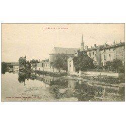 carte postale ancienne 54 LUNEVILLE. La Vezouse 1921