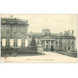 carte postale ancienne 54 LUNEVILLE. Le Château Allée Hercule