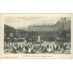 carte postale ancienne 54 LUNEVILLE. Le Château le Rocher 1916