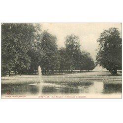 carte postale ancienne 54 LUNEVILLE. Les Bosquets Allée des Marronniers