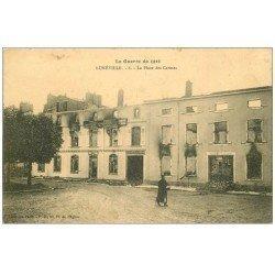 carte postale ancienne 54 LUNEVILLE. Place des Carmes n°6
