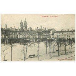 carte postale ancienne 54 LUNEVILLE. Place Léopold 1916