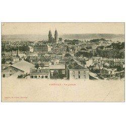 carte postale ancienne 54 LUNEVILLE. Vue générale 1916