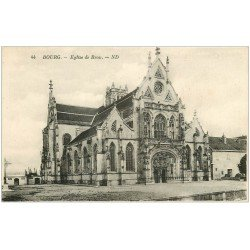 carte postale ancienne 01 BOURG. Eglise de Brou. Ed. ND