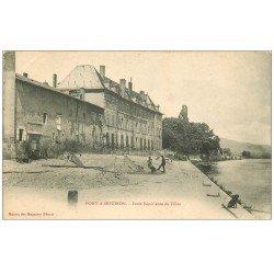 carte postale ancienne 54 PONT-A-MOUSSON. Ecole de Filles vers 1900