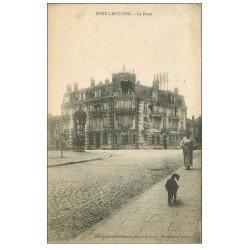 carte postale ancienne 54 PONT-A-MOUSSON. La Poste 1918
