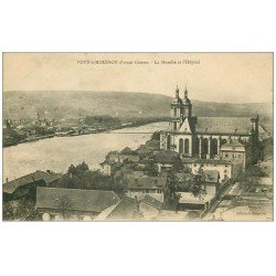 carte postale ancienne 54 PONT-A-MOUSSON. Moselle et Hôpital