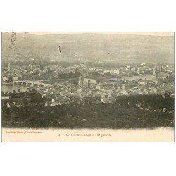 carte postale ancienne 54 PONT-A-MOUSSON. Vue 1911 (défaut)