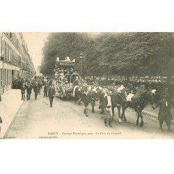 carte postale ancienne 54 NANCY. Le Char de Léopold Cortège Historique de 1909