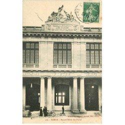 carte postale ancienne 54 NANCY. Nouvel Hôtel des Postes 1909